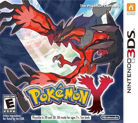 Pokemon Y 3DS New