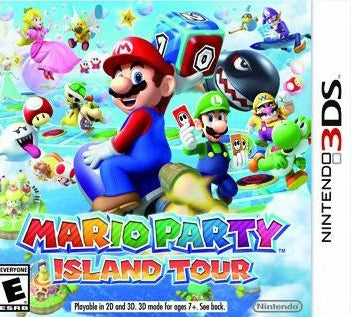 Mario Party Island Tour 3DS Used
