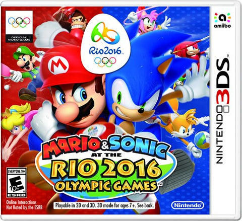 Mario & Sonic At The Rio 2016 Olympic Games 3DS Used