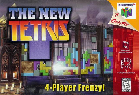 New Tetris N64 Used Cartridge Only