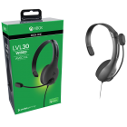 Xbox One Headset Wired PDP LVL 30 Chat Black New