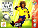 International Superstar Soccer 98 N64 Used Cartridge Only