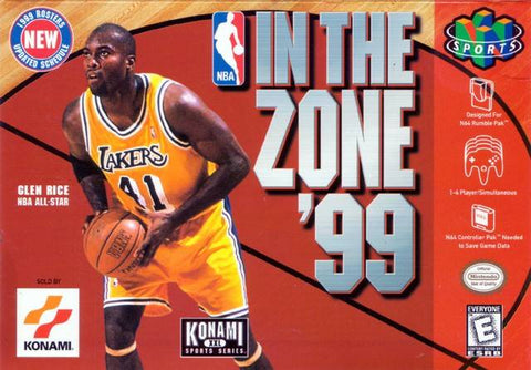 NBA In The Zone 99 N64 Used Cartridge Only