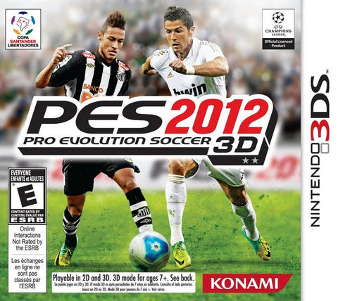 Pro Evolution Soccer 2012 3DS Used Cartridge Only
