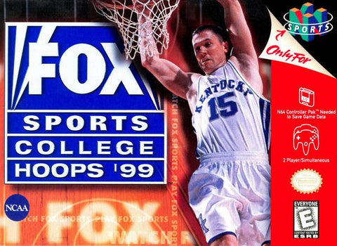 Fox Sports College Hoops 99 N64 Used Cartridge Only