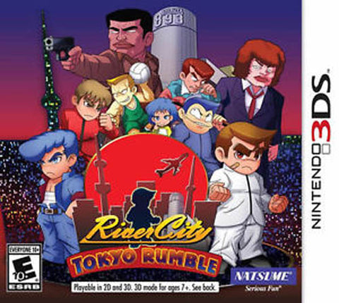 River City Tokyo Rumble 3DS Used