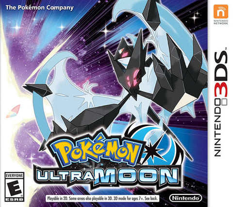 Pokemon Ultra Moon 3DS Used Cartridge Only