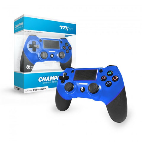 PS4 Controller Wireless Ttx Champion Blue New
