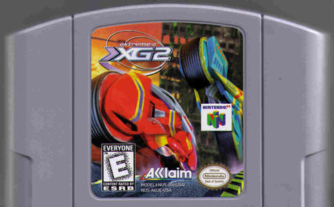Extreme G 2 N64 Used Cartridge Only