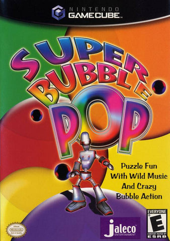 Super Bubble Pop GameCube Used