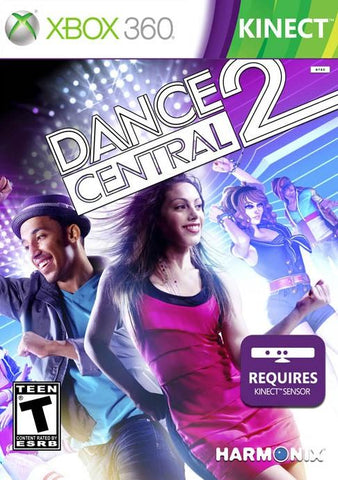 Dance Central 2 Kinect Required 360 Used