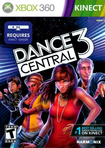 Dance Central 3 Kinect Required 360 Used