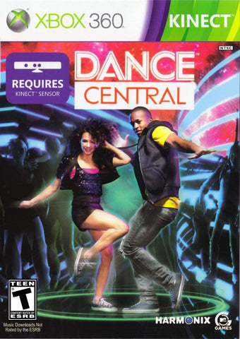 Dance Central Kinect Required 360 Used