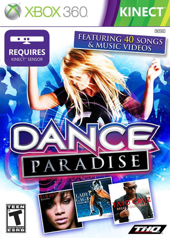 Dance Paradise Kinect Required 360 Used