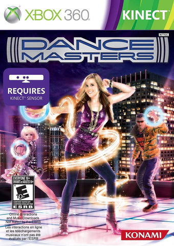 Dancemasters Kinect Required 360 Used
