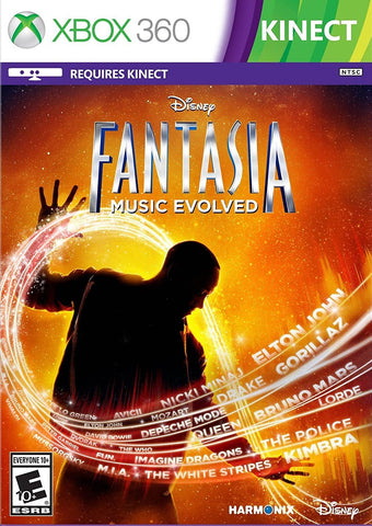 Disney Fantasia Music Evolved Kinect Required 360 Used