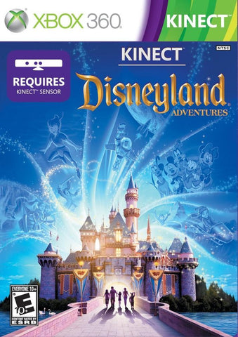 Disneyland Adventures Kinect Required 360 Used