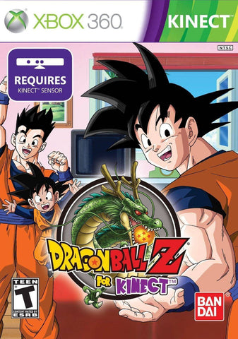 Dragon Ball Z Kinect Required 360 Used