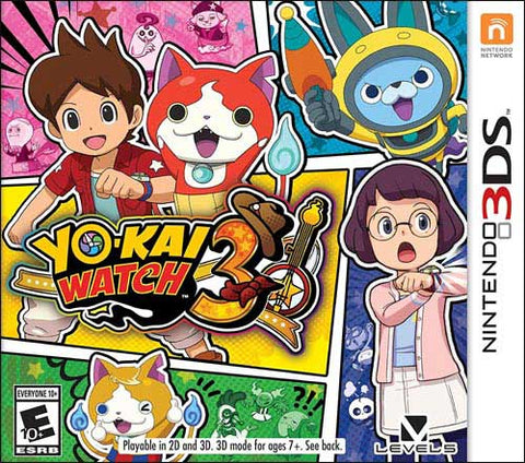 Yokai Watch 3 3DS Used Cartridge Only