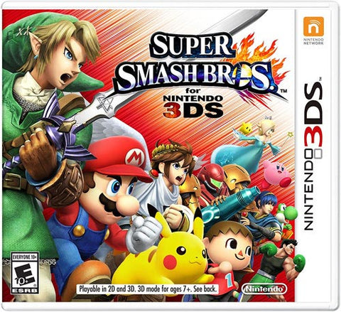 Super Smash Bros 3DS New