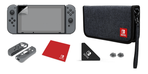 Switch Carry Case PDP Starter Kit New