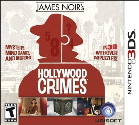 James Noirs Hollywood Crimes 3DS Used
