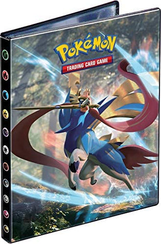 Pokemon 4 Pocket Portfolio Sword & Shield