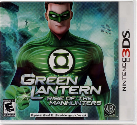 Green Lantern Rise Of Manhunters 3DS Used