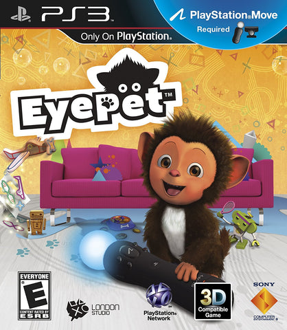 Eye Pet Move Required PS3 Used
