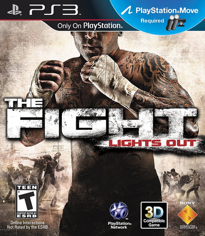 Fight Lights Out Move Required PS3 Used