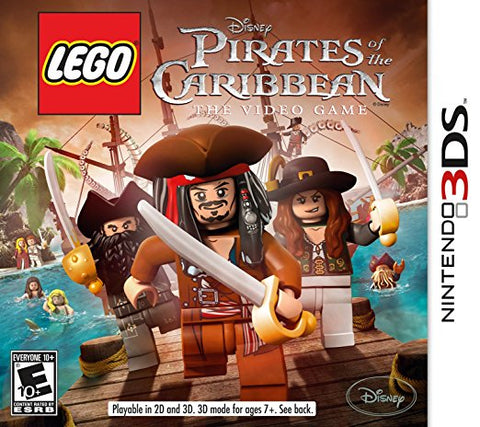 Lego Pirates Of The Caribbean 3DS Used