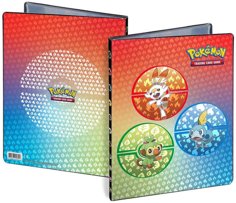 Pokemon 9 Pocket Portfolio Galar Starters
