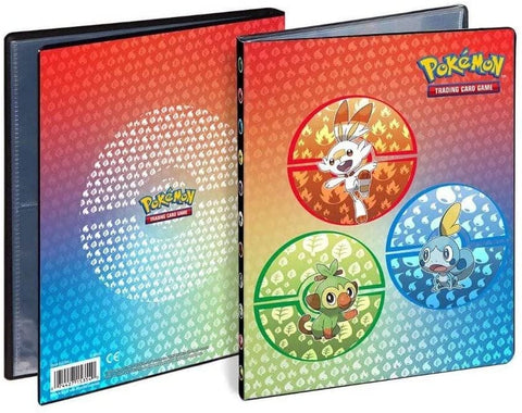 Pokemon 4 Pocket Portfolio Galar Starters