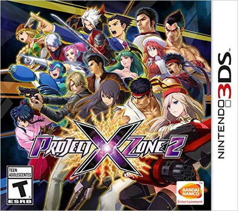 Project X Zone 2 3DS Used