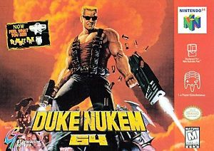 Duke Nukem N64 Used Cartridge Only