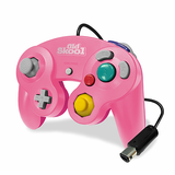 Gamecube Controller Wired Old Skool Pink New