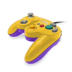 Gamecube Controller Wired Old Skool Yellow And Purple New