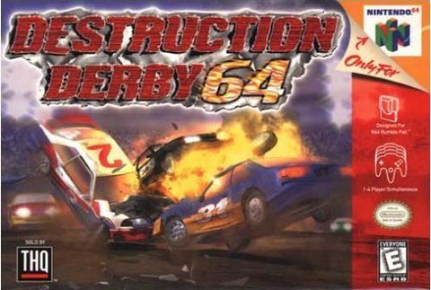 Destruction Derby N64 Used Cartridge Only
