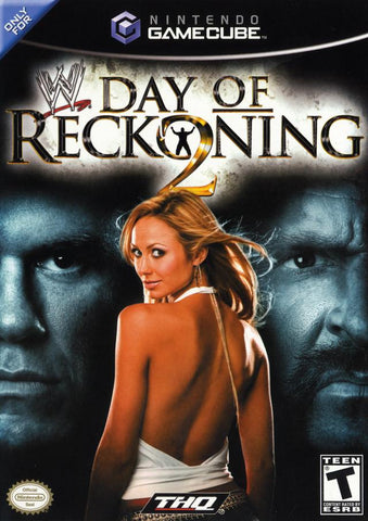 WWE Day Of Reckoning 2 GameCube Used