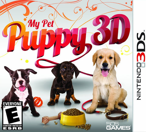 My Pet Puppy 3D 3DS Used Cartridge Only