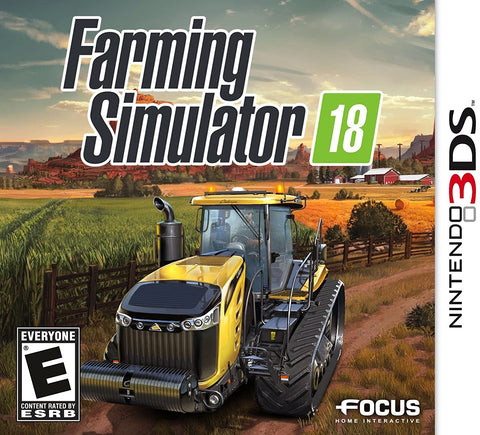 Farming Simulator 18 3DS Used