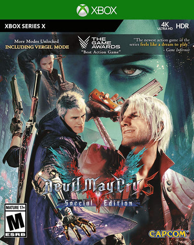 Devil May Cry 5 Special Edition Series X New