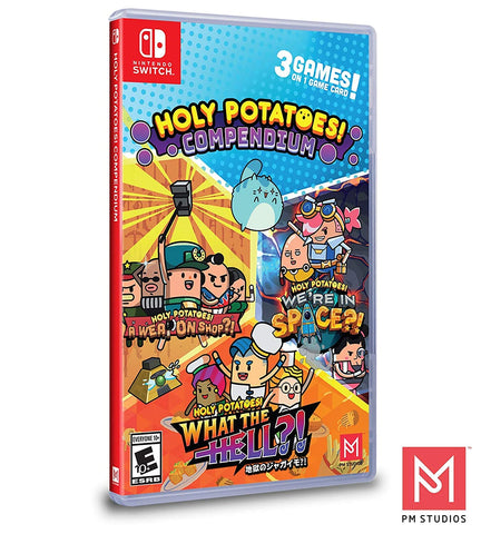 Holy Potatoes Compendium Switch New