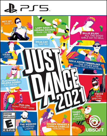 Just Dance 2021 PS5 Smart Phone Required Used