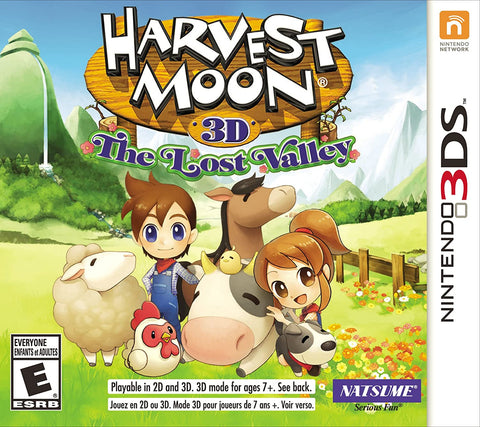 Harvest Moon The Lost Valley 3DS Used
