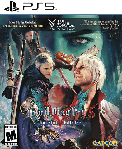 Devil May Cry 5 Special Edition PS5 Used