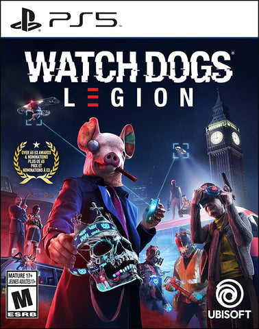 Watch Dogs Legion PS5 Used