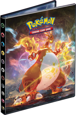 Pokemon 4 Pocket Portfolio Charizard Flaming