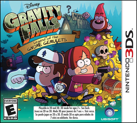 Gravity Falls Legend Of The Gnome Gemulets 3DS Used Cartridge Only