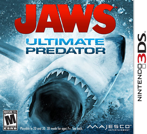 Jaws Ultimate Predator 3DS Used